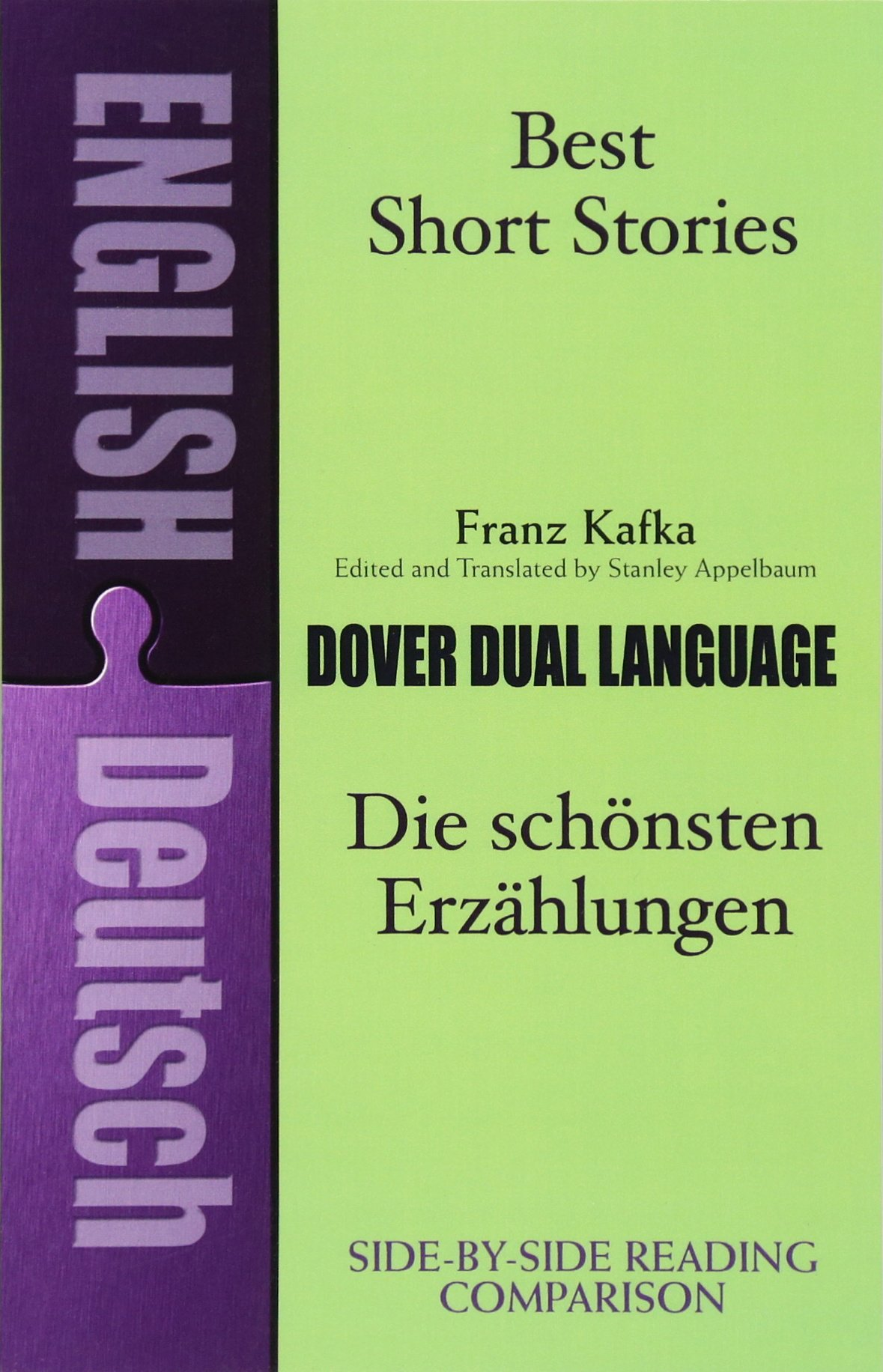 Best Short Stories: A Dual-Language Book (Dover Dual Language German) by Dover Publications