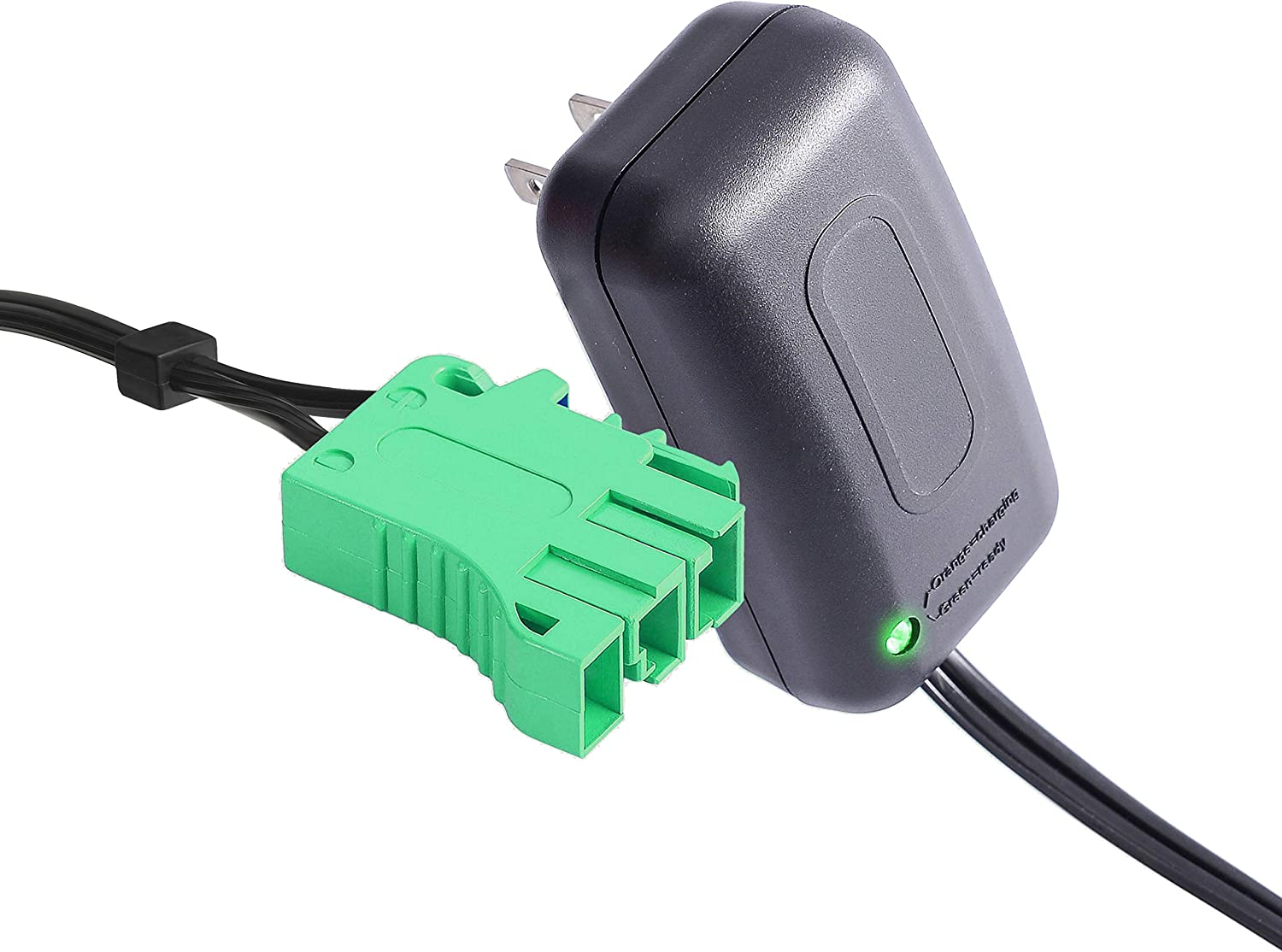 6 Volt Battery Charger for Peg Perego, 6V Charger Works with Peg-Perego Santa Fe Train John Deere Mini Power Ducati Desmosedici John Deere Farm Small Tractor Powered Ride On Car Replaement Power