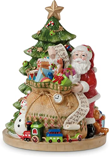 Gifts from Santa Collection, We Wish You A Merry Christmas Musical Figurine
