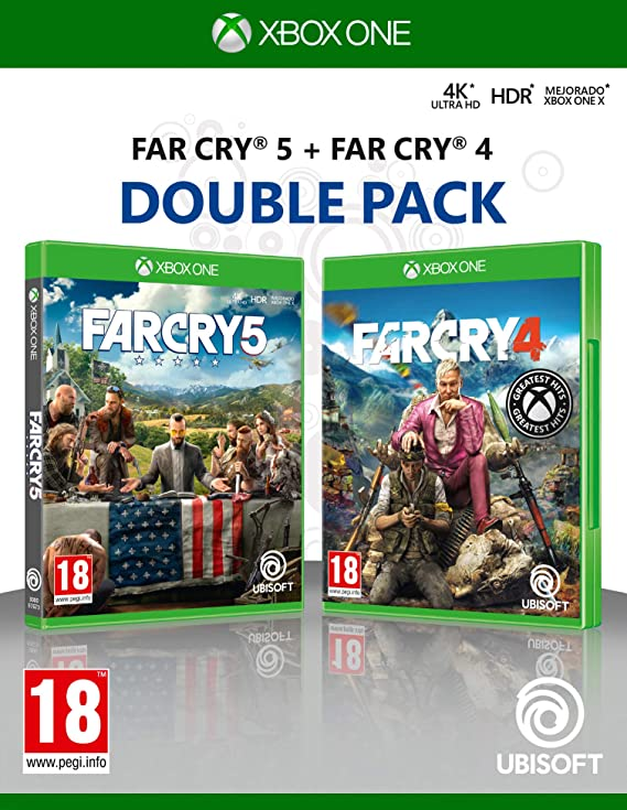 Double Pack: Far Cry 4 + Far Cry 5: Amazon.es: Videojuegos