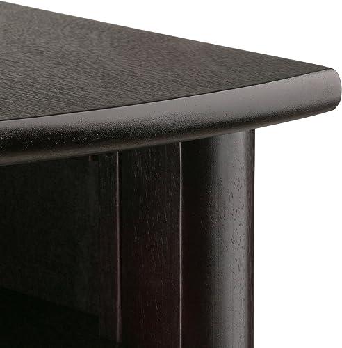 Winsome Liso Corner Desk, Espresso