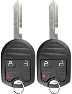 Keylessoption Keyless Entry Remote Control Uncut Blank Car Ignition Key Fob Replacement For Cwtwbu Pack