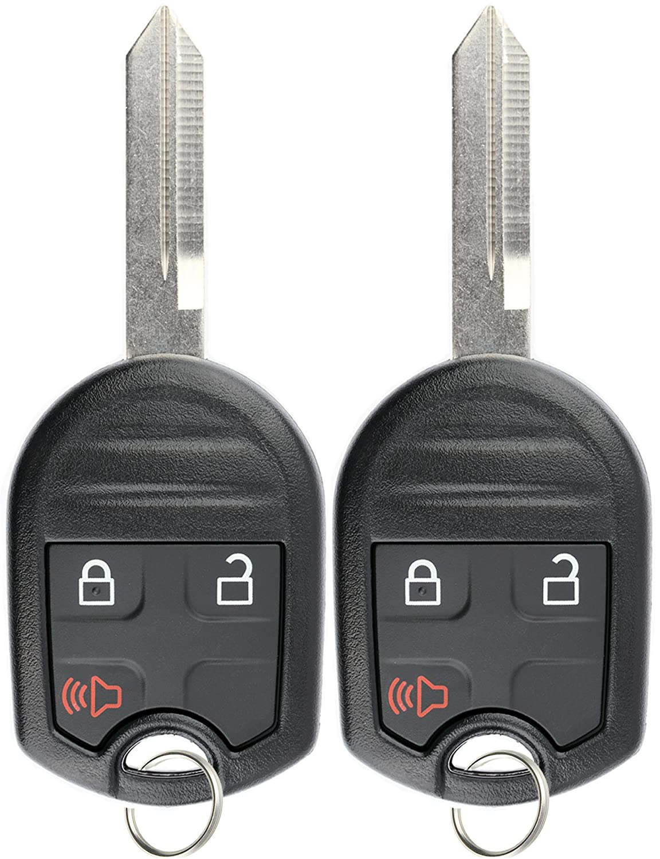 KeylessOption キーレスエントリー リモートコントロール 未カット ブランクカー イグニッションキーフォブ 交換用 CWTWB1U793 (2個パック)   B00KTJ1XIA