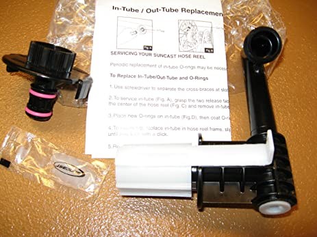 Great Suncast Hose Reel Cart Repair In Out Tube Replacement Part 0461685a For  JTT175B JTT175 SFB200B SFB200