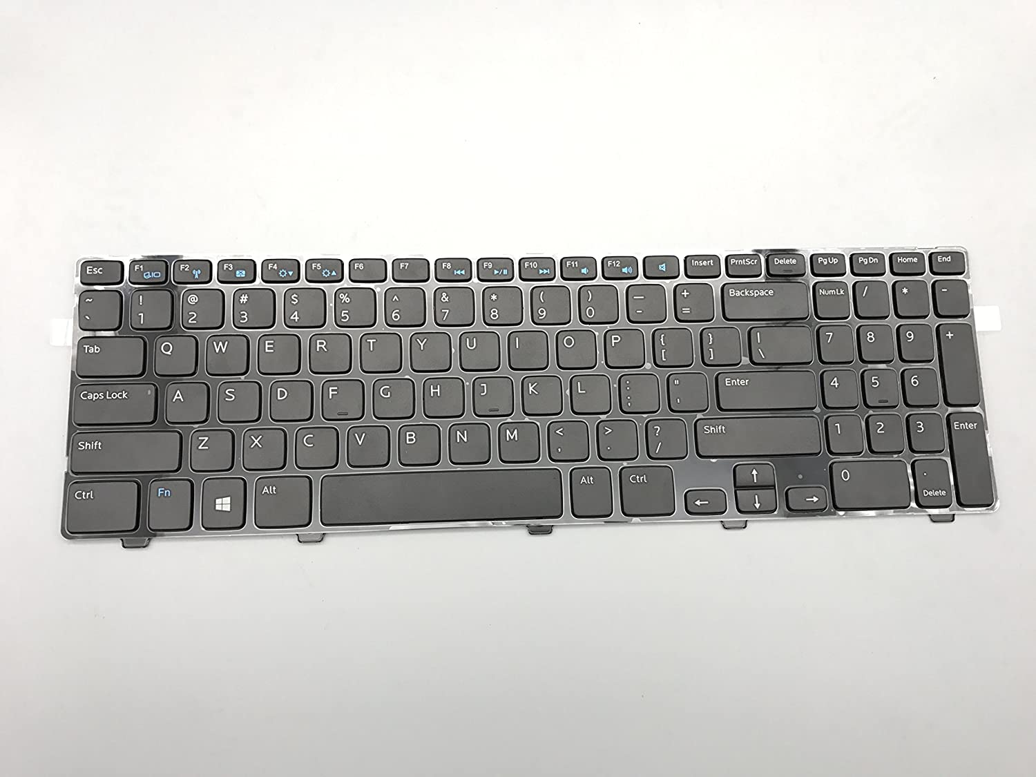Laptop Replacement Keyboard for Dell Inspiron 15 3521 15R 5521 MP-12F83US-698 PK130SZ3A00 US Layout 3521