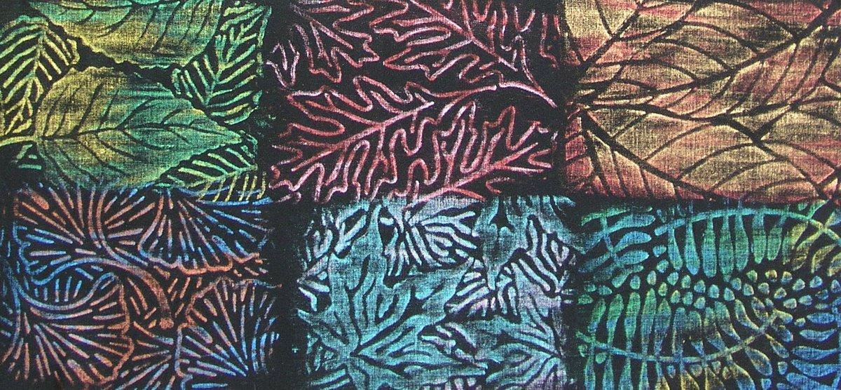 Cedar Canyon Jack Richeson Cedar Canyon Rubbing Plates, Leaves, Set of 6 JACK-210902