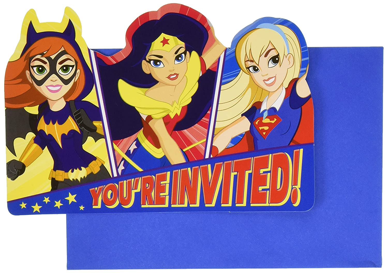 Amscan International - 491609 DC Super Hero Niñas ...