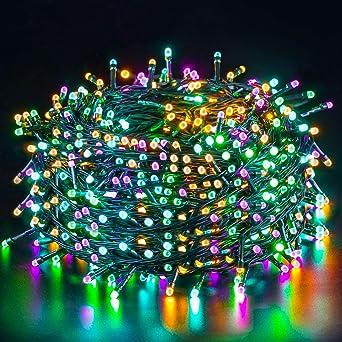 100-400 LED Lichterkette Außen Weihnachten Lichterkette Home Beleuchtung 10-50m