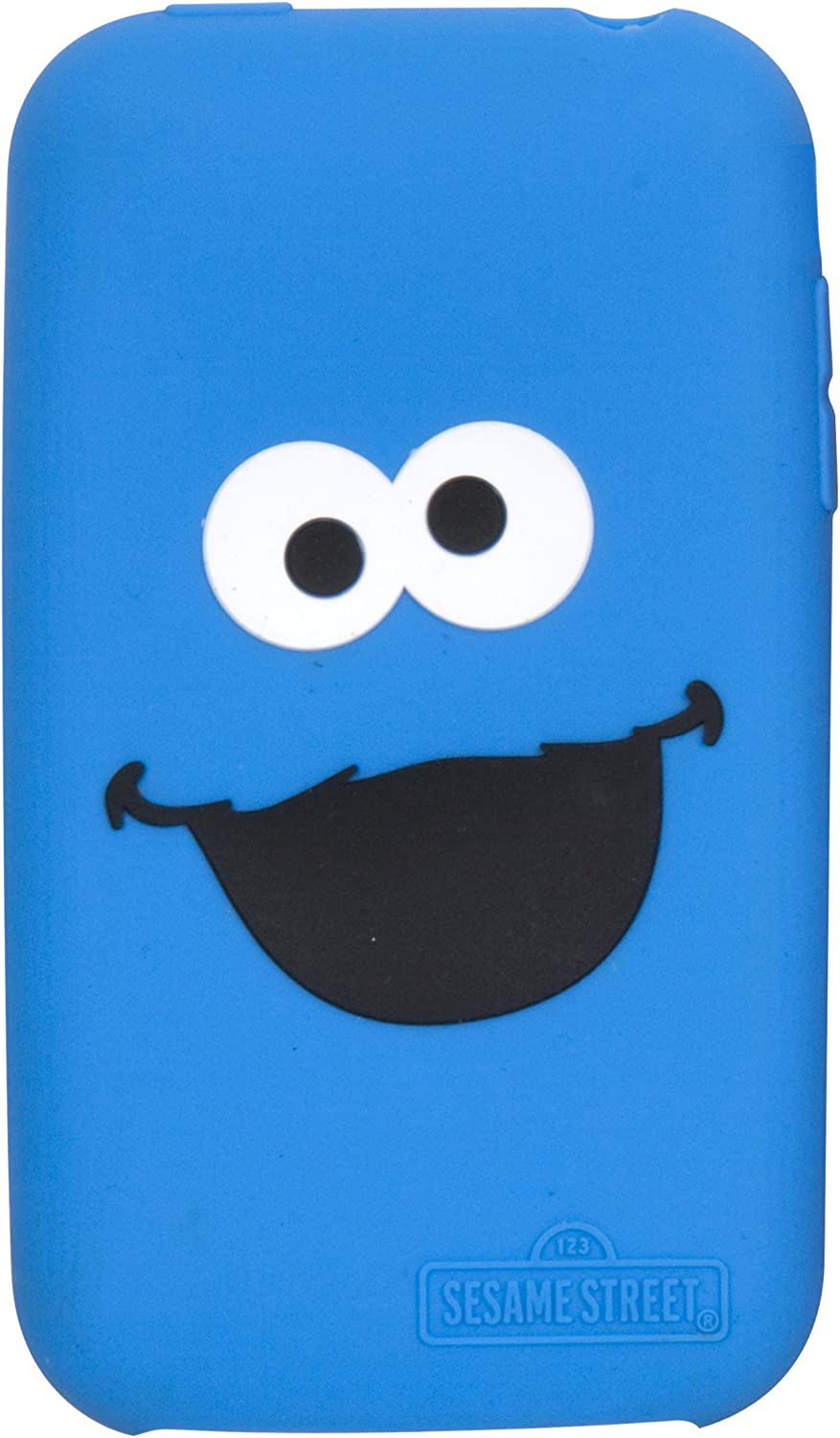 i.Sound Sesame Street Cookie Monster Silicone Sleeve for iPod touch-Blue
