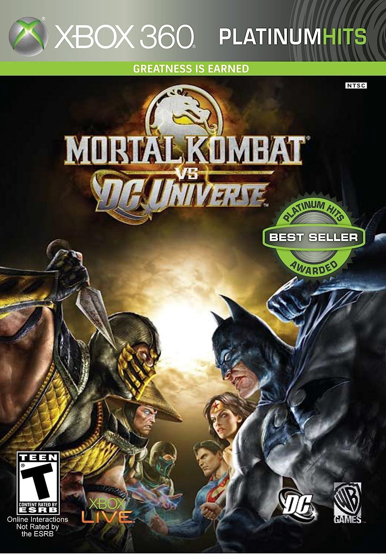 Amazon Com Mortal Kombat Vs Dc Universe Xbox 360 Artist Not Provided Video Games