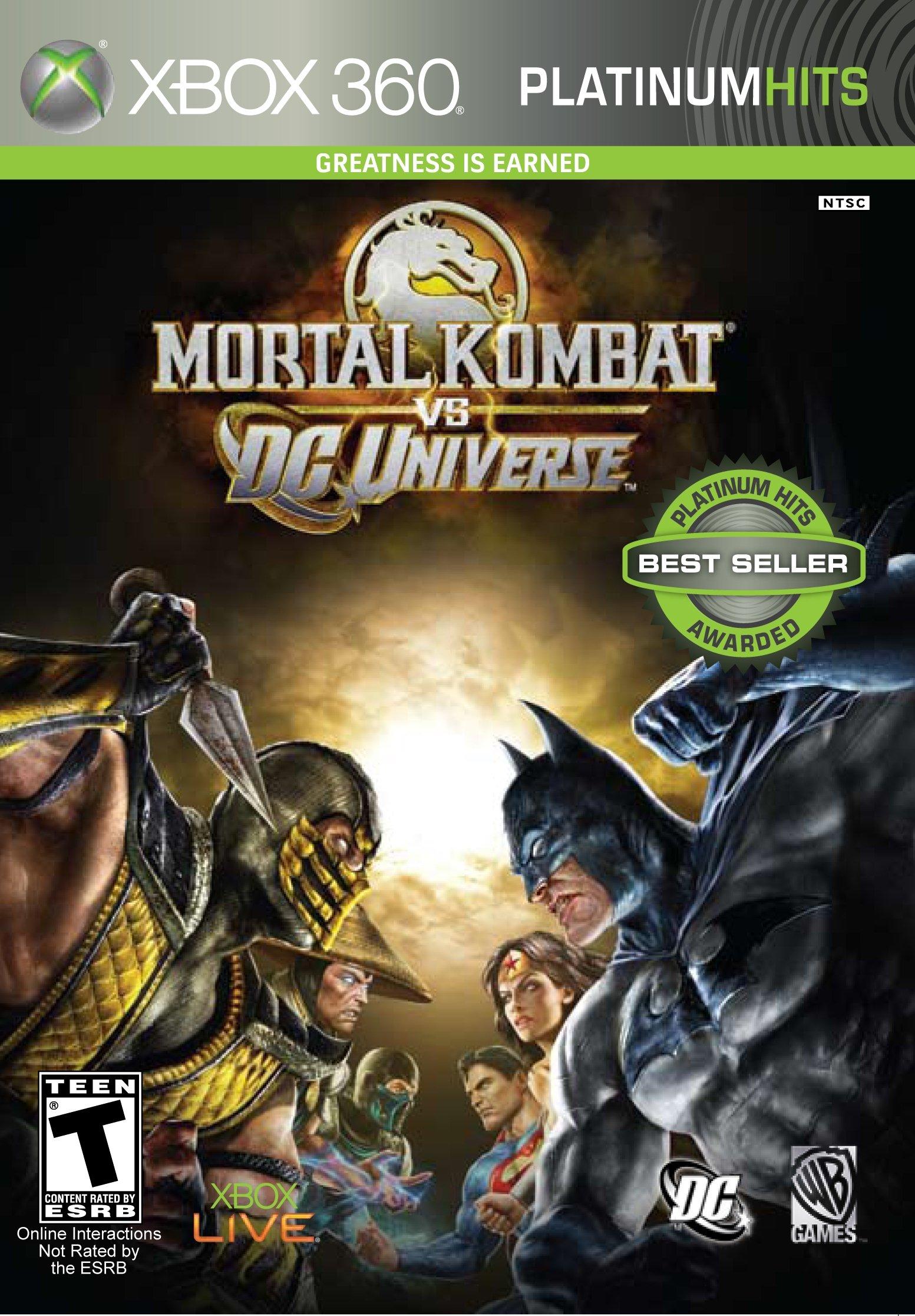 Mortal Kombat vs. DC Universe - Xbox 360 by Midway (Image #1)