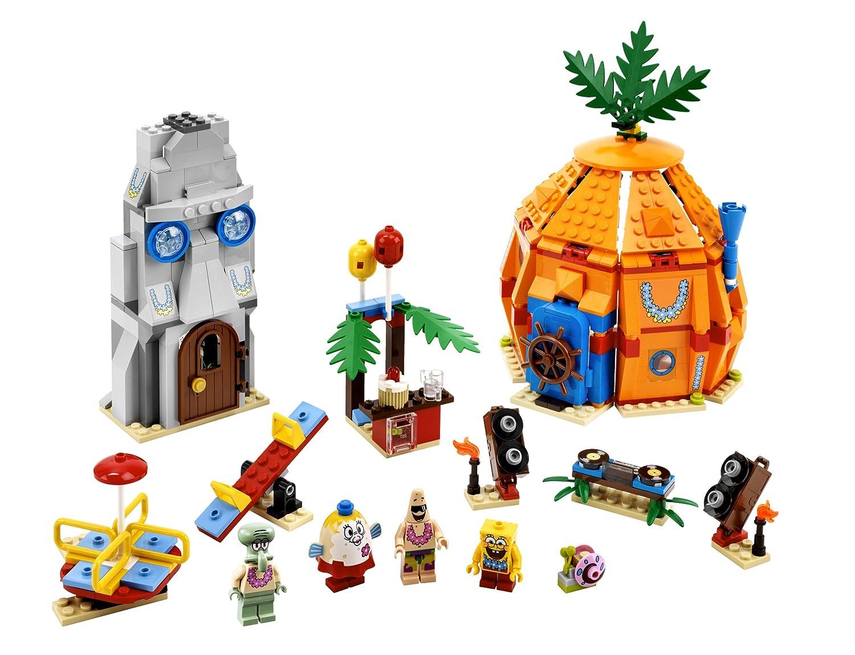 Amazon.com: LEGO SpongeBob Bikini Bottom Undersea Party 3818: Toys ...