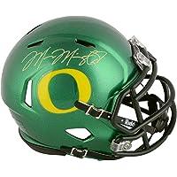 $149 » Marcus Mariota Oregon Ducks Autographed Speed Mini Helmet - Fanatics Authentic Certified - Autographed College Mini Helmets