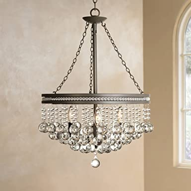 Regina Olive Bronze 19 Wide Crystal Chandelier – Vienna Full Spectrum