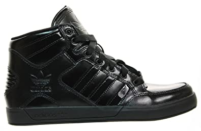 réduction abordable sortie grand escompte Adidas Originals Brevets Hardcourt Hi Triple Pour Les Hommes Noirs Espadrille (40) Footlocker pas cher moins cher zr3isIZjDq