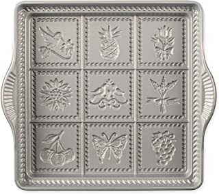 product image for Nordic Ware English Shortbread Pan, 9x9 Inches, Non-stick