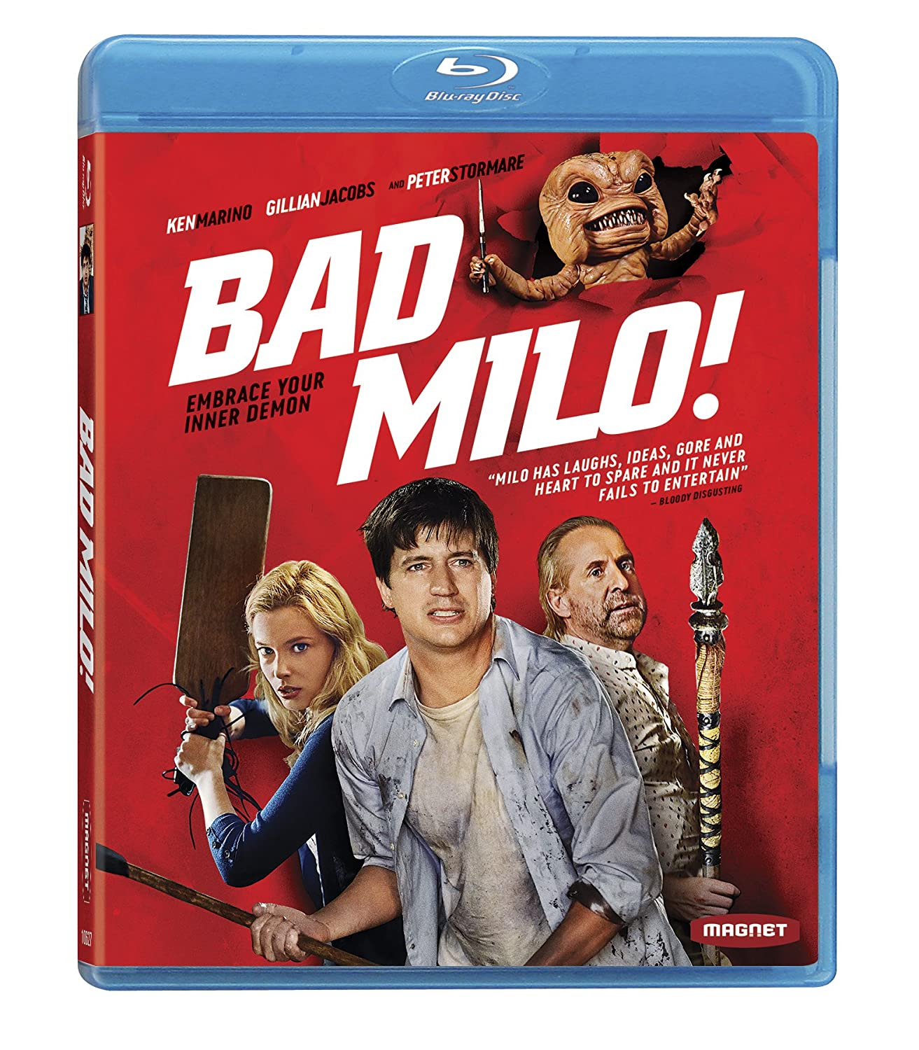 Amazon Bad Milo! [Blu-ray] Ken Marino Gillian Jacobs