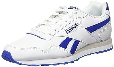 Reebok Royal Glide LX, Baskets Basses Homme, Blanc (White/Steel), 40.5 EU