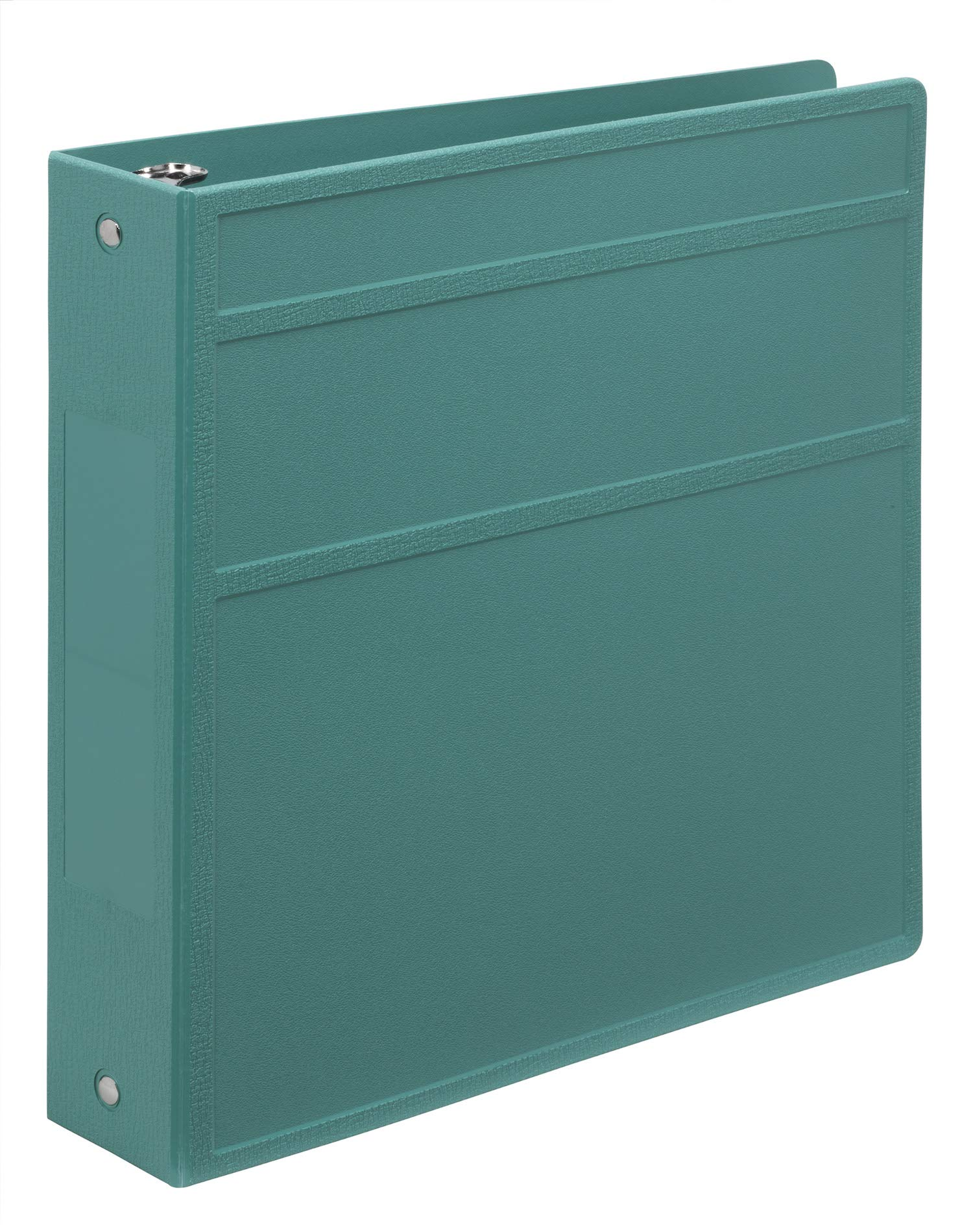 Carstens Heavy-Duty 3-Ring Binder - Side Opening (Teal, 2 Inch)