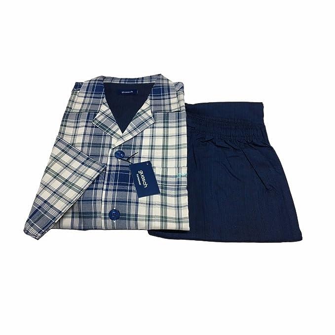GUASH - Pijama - para Hombre Fantasia sul BLU XXL