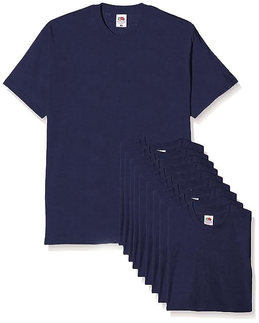 Fruit of the Loom Original T, Camiseta para Hombre (Pack de 3)