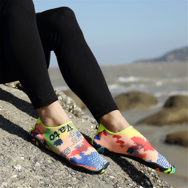 PENGCHENG Water Sports Shoes Men Women Beach Swim Barefoot Skin Quick-Dry Aqua Socks