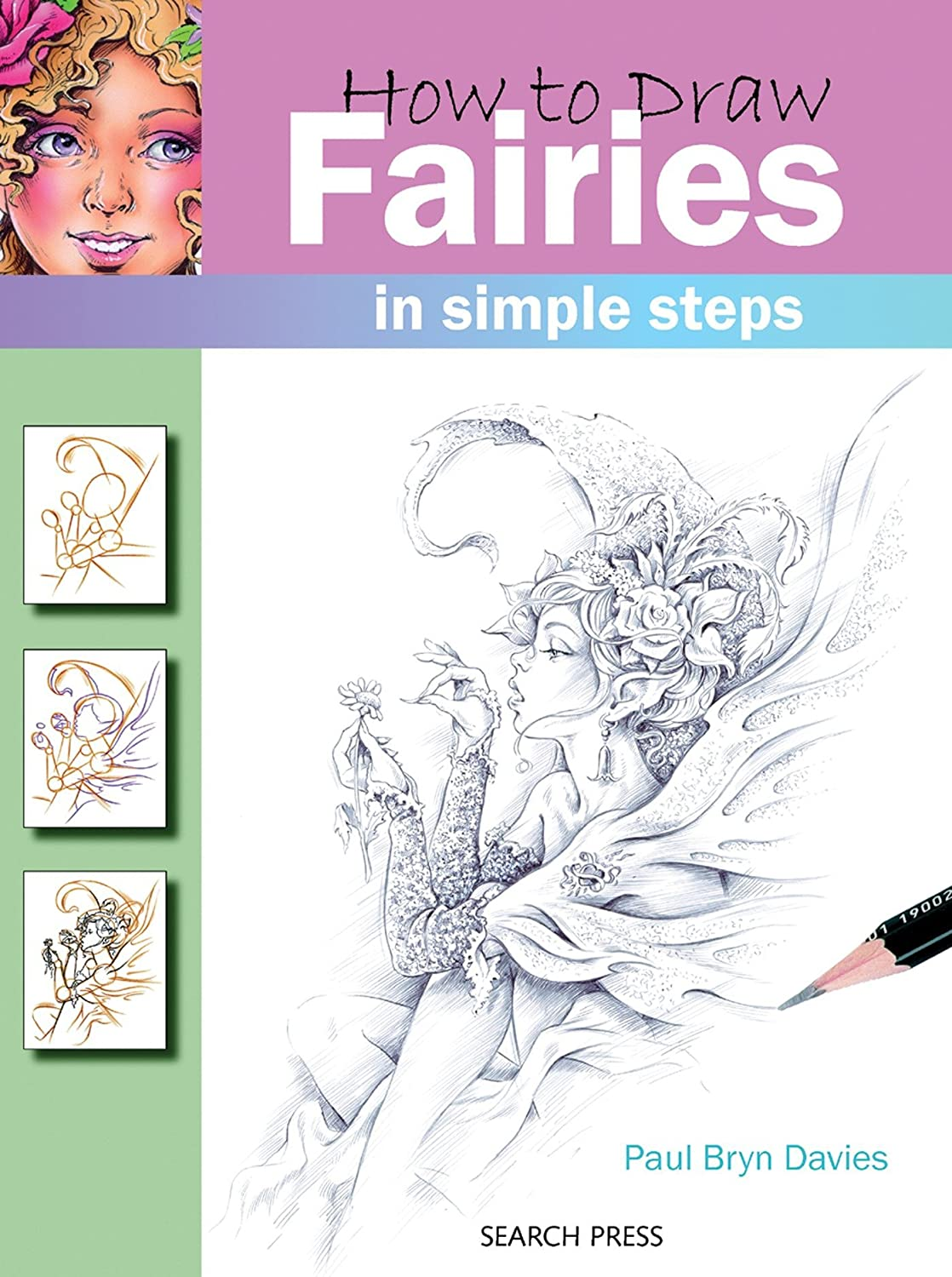 How to draw a fairy in stages 34