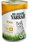 YARRAH Bio Katzenfutter Pate mit Huhn 400 g, 12er Pack (12 x 400 g)
