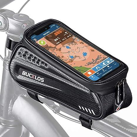 GUB Bike Tube Bag Waterpoof High Strength Convenient 1.2L Large Capacity MTB Bag