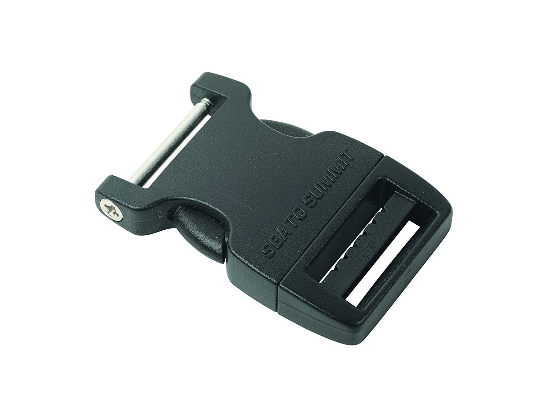 Talla /Única Sea to Summit Field Repair Buckle-25mm Side Release 2 Pin Accesorios Adultos Unisex Negro Black
