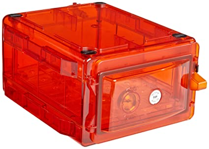 Bel-Art Secador Amber 1.0 Gas-Purge Desiccator Cabinet; 0.7 cu. ft. (F42071-0009)