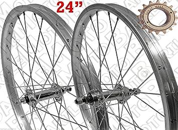 Ruota Cerchio Anteriore Posteriore Bici Graziella 24 X 175