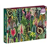 Galison Houseplant Jungle 1000 Piece Jigsaw Puzzle for Adults – Plant Jigsaw Puzzle with Mix of Succulents & Other Household