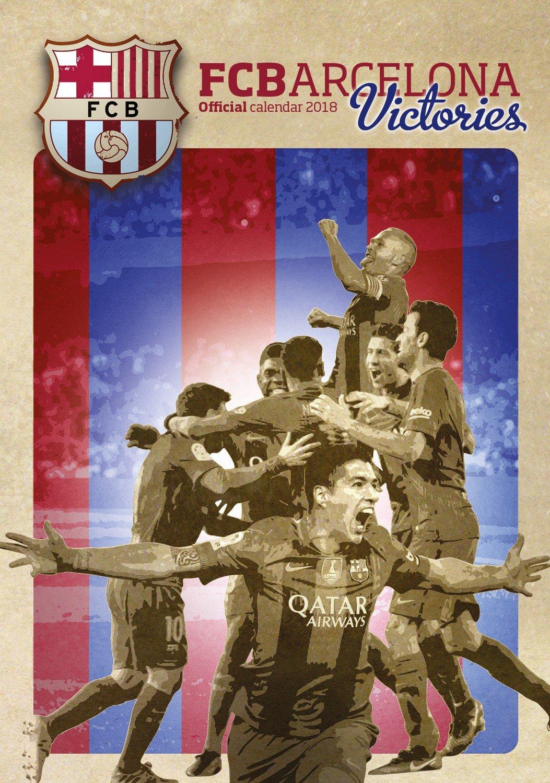 Barcelona FC Victories Calendar - Calendar 2017 - 2018 Calendars - Soccer Calendar - FC Barcelona - 12 Month Calendar by Dream