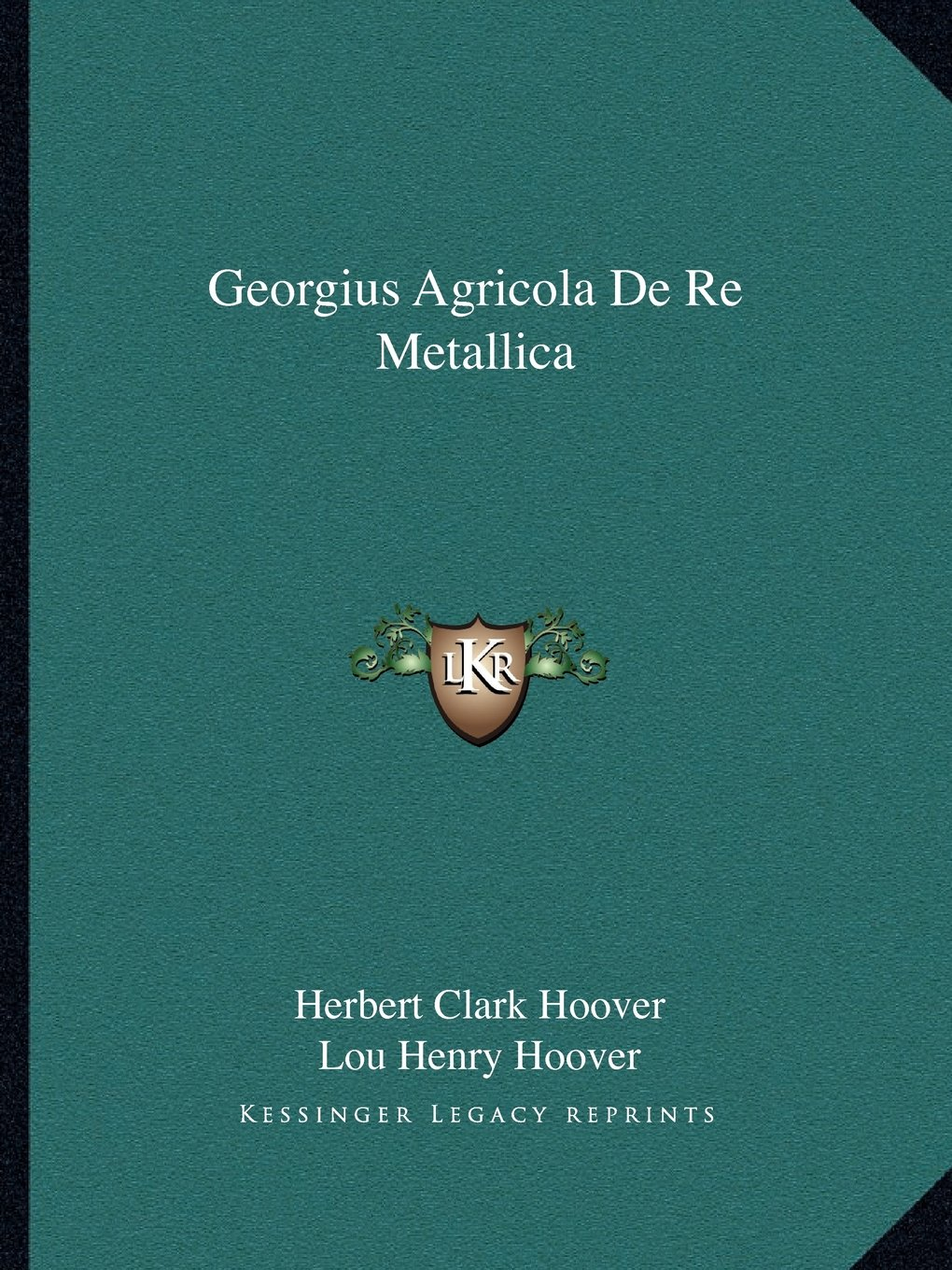 Download Georgius Agricola De Re Metallica pdf epub
