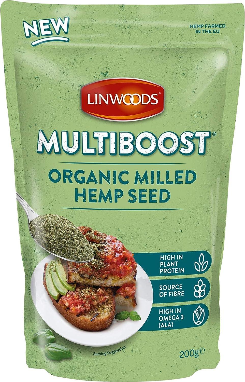Semillas molidas de cáñamo bio Linwoods 200 g