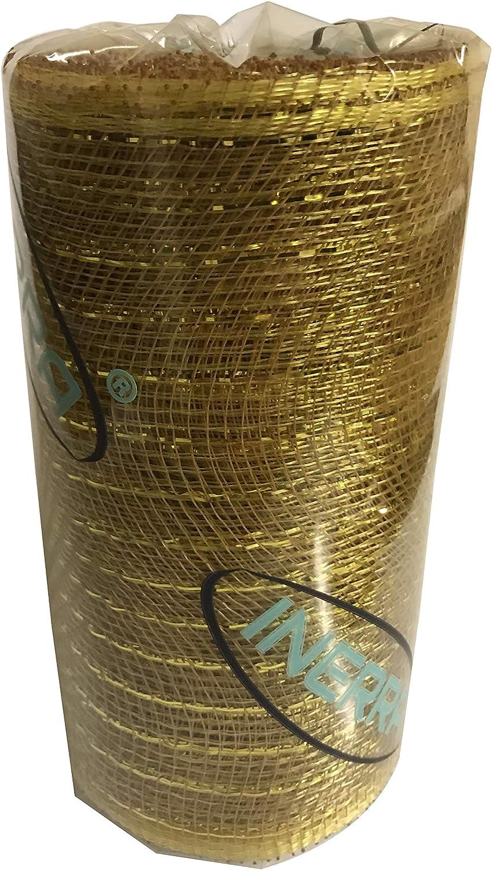 Inerra Deco Malla Rollo Tela Poli Decoraci/ón para Coronas Boda y Guirnaldas Beb/é Azul 15cm X 10 Yardas 10 Yards x 15cm