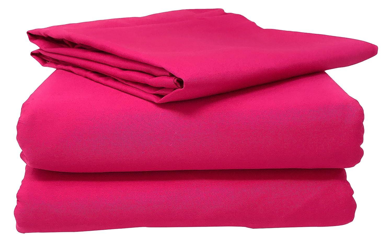 Tache 2 – 3 Piece綿100 %ベッドシートセットピンク(フィットシーツ) クイーン ピンク B01NA0IU66 クイーン クイーン