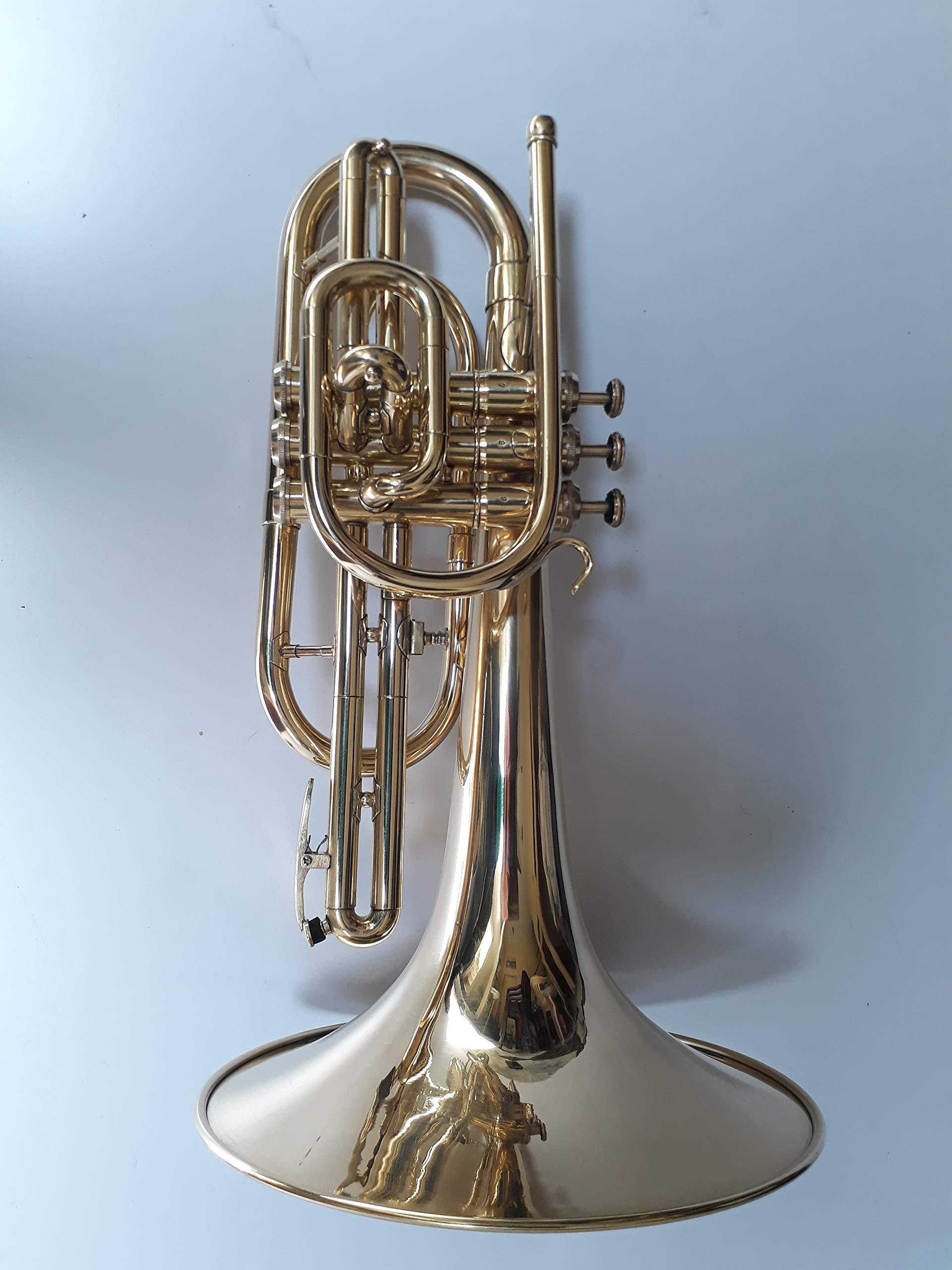 OSWAL MARCHING MELLAPHONE BRASS FINISH