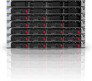 Entry-Level Proliant DL360e G8 Server | 2X 1.90GHz 12 Cores | 64GB | 2PS | 4X 1TB (Renewed)