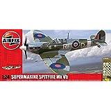 Airfix A50141 Battle of Britain Memorial Flight Supermarine Spitfire MkVb 1:24 Scale Plastic Model Gift Set