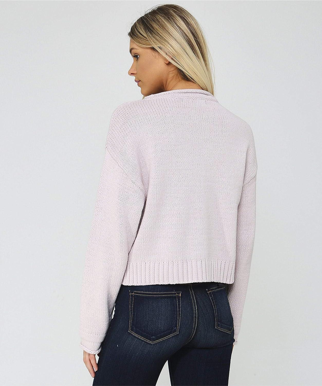 360 Cashmere Bonnie Sweater in Putty Pink