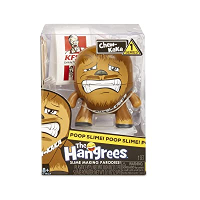 Hangrees The Chew-Kaka Collectible Parody Figure with Slime, Multicolor: Toys & Games