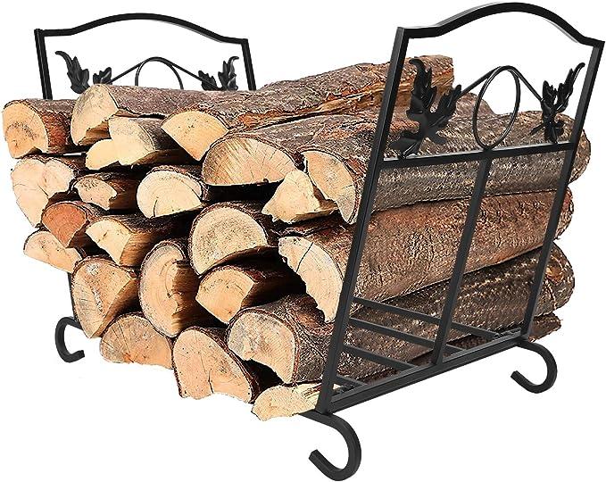 IBS Outdoor Indoor Fireplace Log Holder