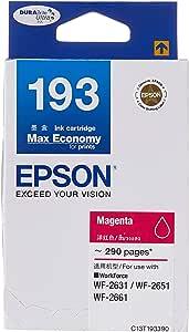 Epson T193 DuraBrite Ultra Ink, Magenta