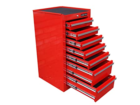 Us Pro Tool Chest Cabinet Tool Box Red Side Cabinet Hang On Locker Rh  Amazon Co