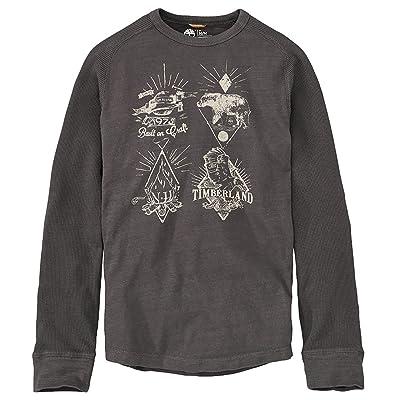 Timberland Men's Slim Fit Harrington River Graphic Shirt