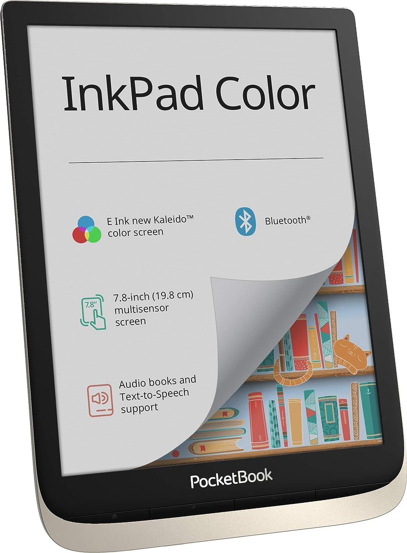 Pocketbook E Book Reader Inkpad Color 7 8 Zoll Moon Computer Zubehör