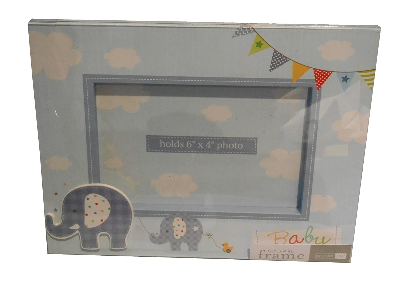 Pepperpot Bilderrahmen, für Jungen, u. a. für Babyfotos, 15,2x10,2cm für Jungen u. a. für Babyfotos 2x10 2cm