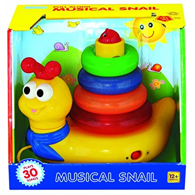 megcos Musical Snail: Toys & Games
